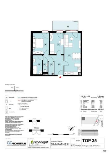 1_Verkaufsplan der Wohnung TOP 35_NBB