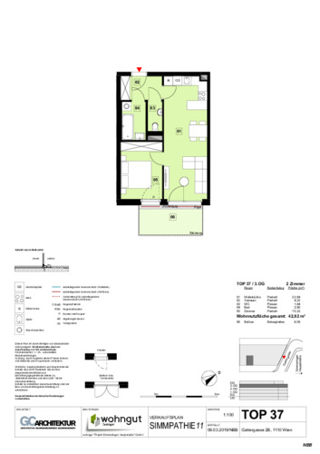 1_Verkaufsplan der Wohnung TOP 37_NBB
