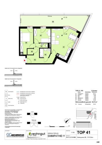 1_Verkaufsplan der Wohnung TOP 41_NBB