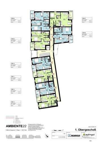 2_Geschoßplan Wohnungen K2_1_1.OG_NBB
