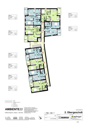 2_Geschoßplan Wohnungen K2_1_2.OG_NBB