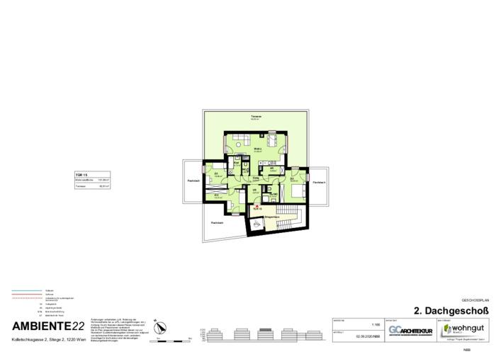 2_Geschoßplan Wohnungen K2_2_2.DG_NBB