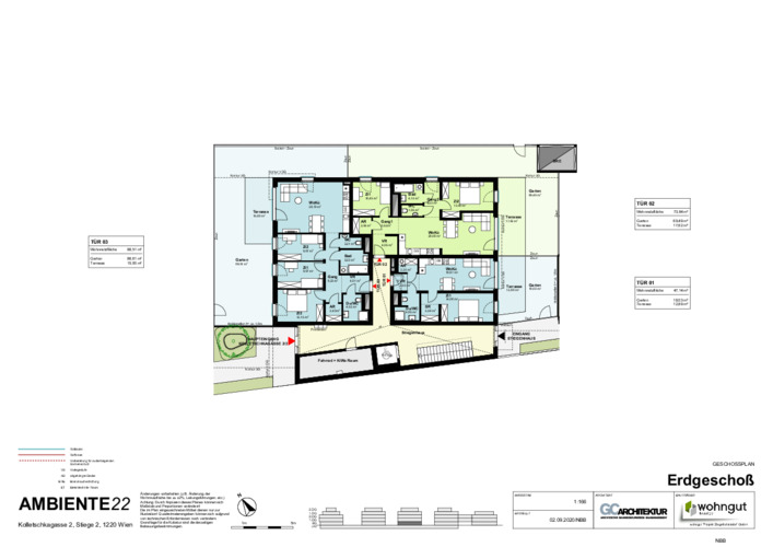 2_Geschoßplan Wohnungen K2_2_EG_NBB