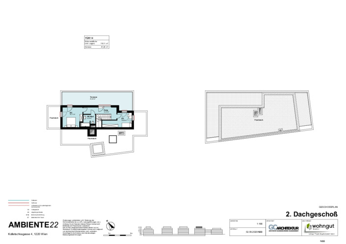 2_Geschoßplan Wohnungen K4_2.DG_NBB