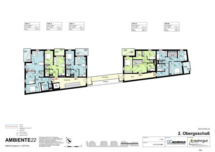 2_Geschoßplan Wohnungen K4_2.OG_NBB