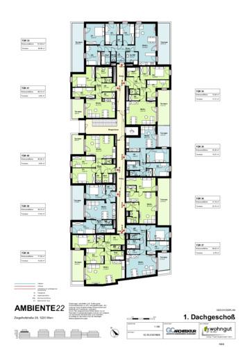 2_Geschoßplan Wohnungen Z28_1.DG_NBB