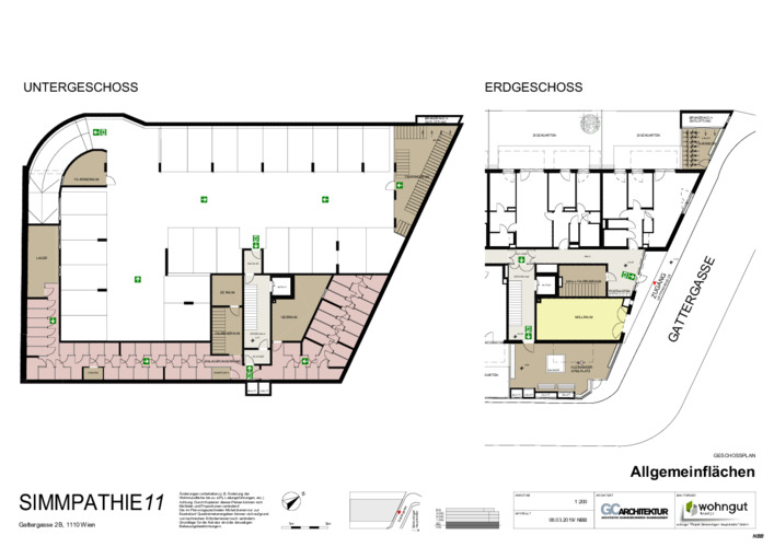 4_Geschoßplan Allgemeinflächen und Dachdraufsicht_NBB
