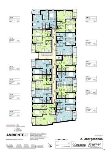 2_Geschoßplan Wohnungen Z28_2.OG_VBB