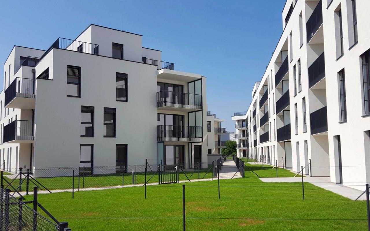 """""""Mein 11er"""": Schlüsselübergabe für 300 Bewohner in der Nussbaumallee 14 in Simmering"""