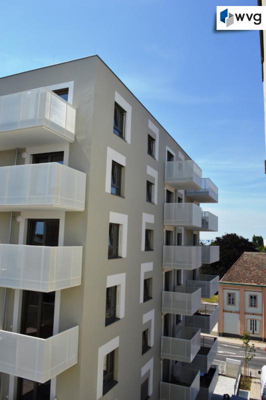 Blick auf Wohnung 6.OG (von 7.OG)