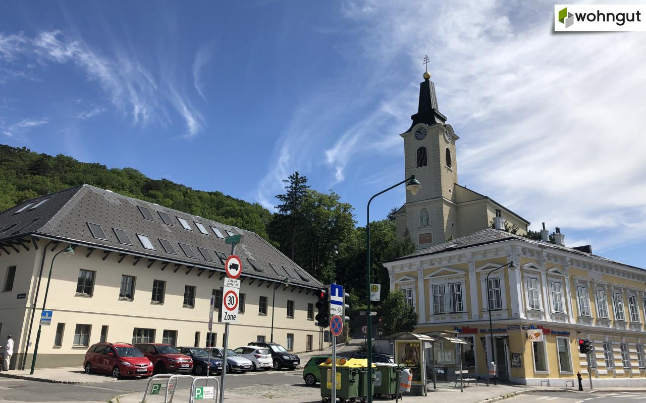 Kalksburg_Kirchenplatz