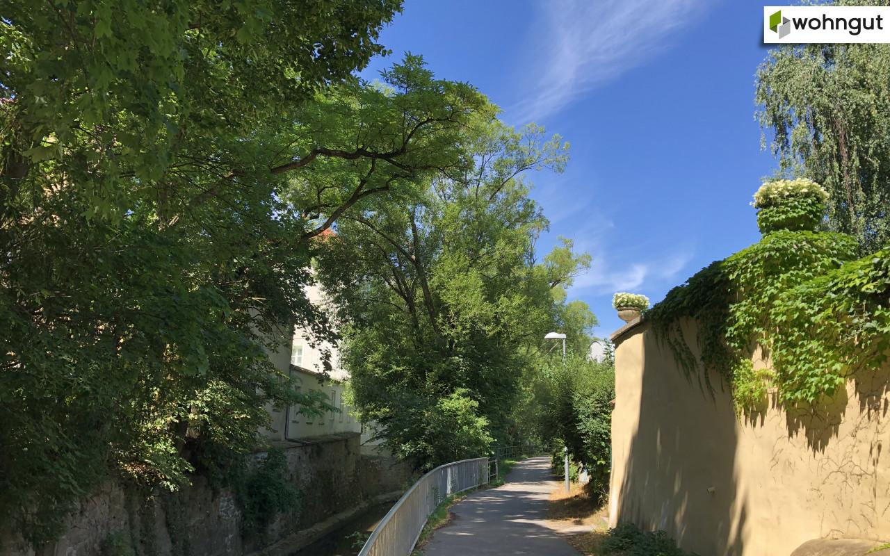 Stadtwanderweg beim Liesingbach