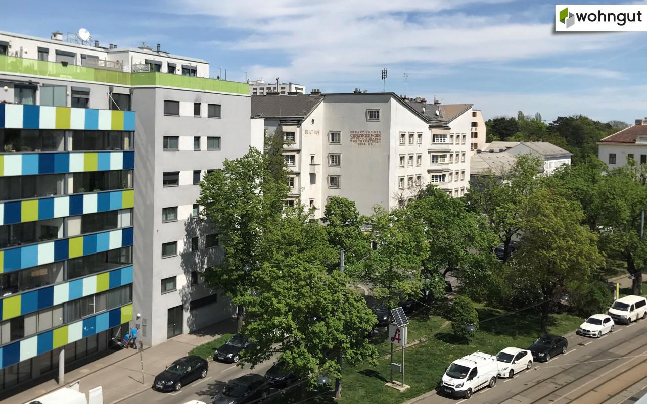 Blick zur Linzerstraße