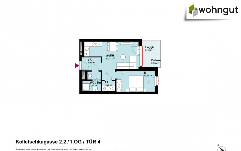 Kolletschkagasse 2 / Stiege 2 / Tür 4