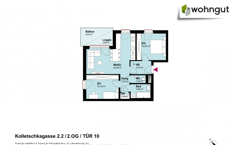 Kolletschkagasse 2 / Stiege 2 / Tür 10
