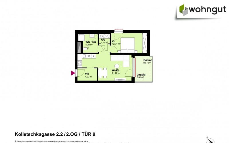 Kolletschkagasse 2 / Stiege 2 / Tür 9