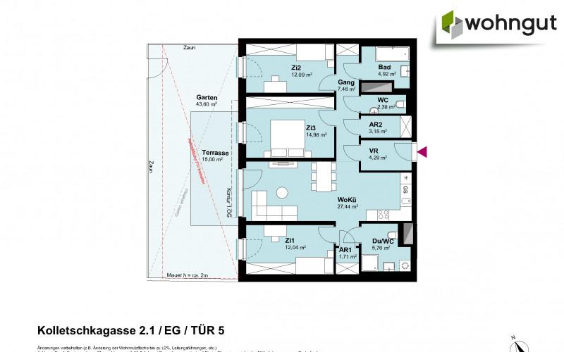 Kolletschkagasse 2 / Stiege 1 / Tür 5