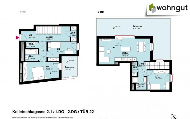 Kolletschkagasse 2 / Stiege 1 / Tür 22