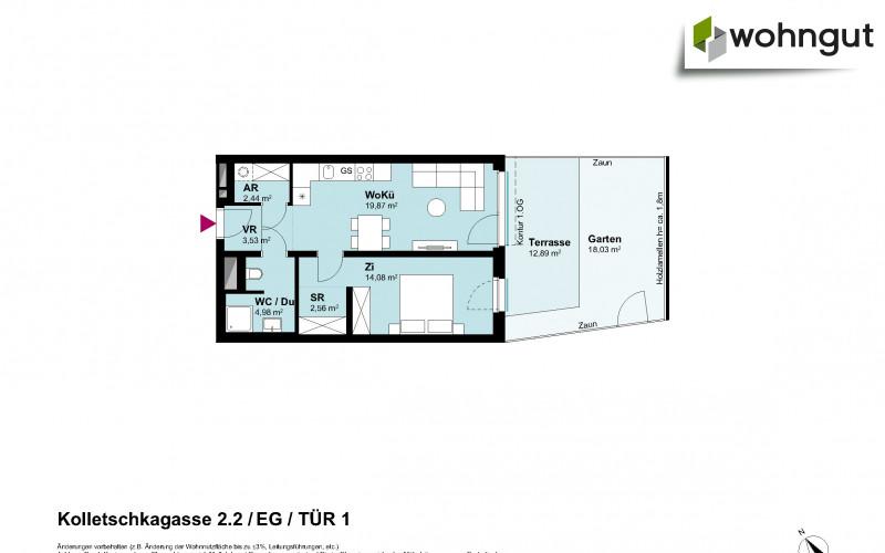 Kolletschkagasse 2 / Stiege 2 / Tür 1