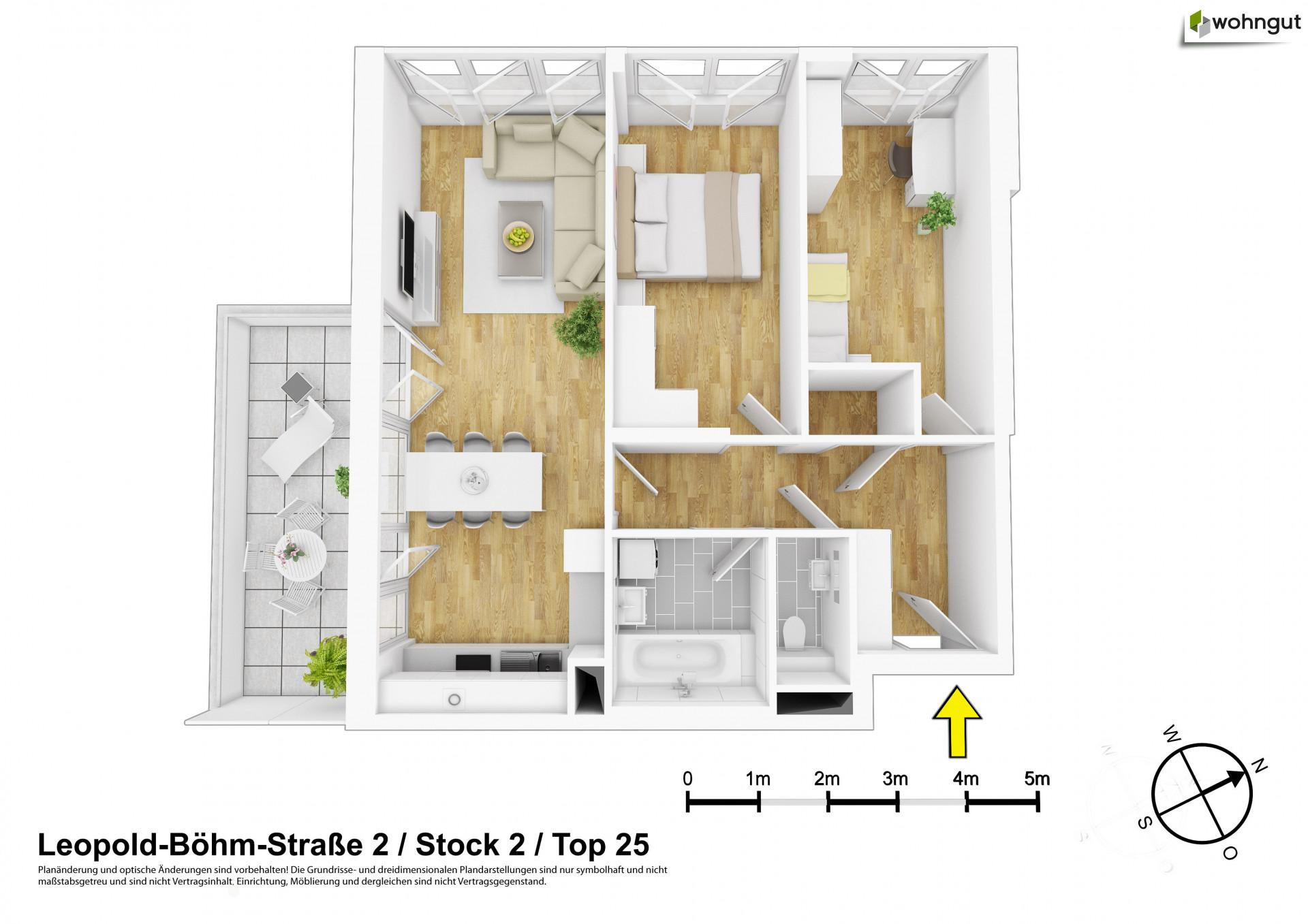 Schöne 3-Zimmer-Wohnung mit Balkon ⋅ wohngut Immobiliengruppe