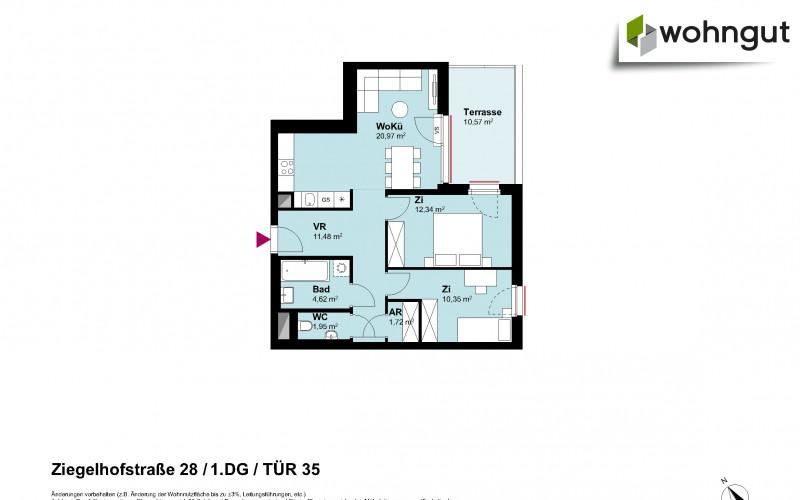 Ziegelhofstrasse 28 / Tür 35