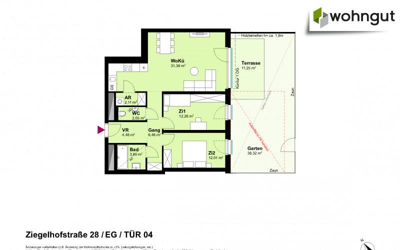 Ziegelhofstrasse 28 / Tür 4